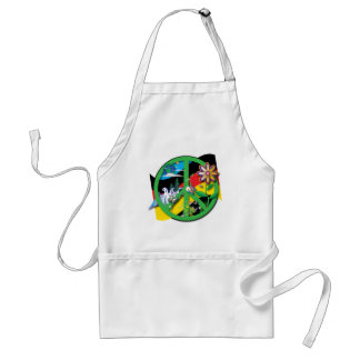 Planet Peace Germany Adult Apron