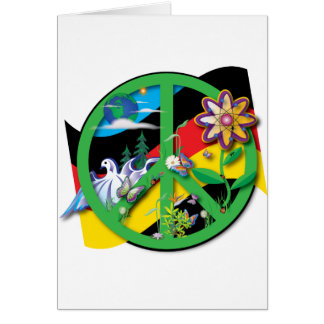 Planet Peace Germany Card