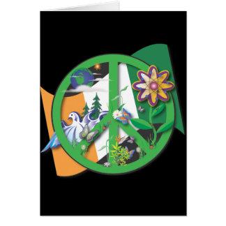 Planet Peace Ireland Card