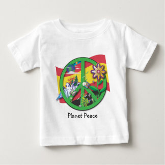 Planet Peace Spain Baby T-Shirt