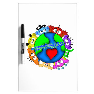 Planet Peek-A-Boo Hands up Logo Dry-Erase Board