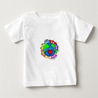 "Planet Peek-A-Boo ""Hands up Logo"" Tshirt"