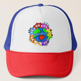 Planet Peek-A-BOO Logo Hat
