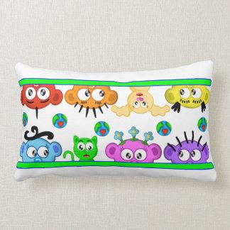 Planet Peek-A-Boo Peeking Pillow