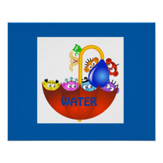 Planet Peek-A-BOO /Water design~The PeekABoo Crew Poster