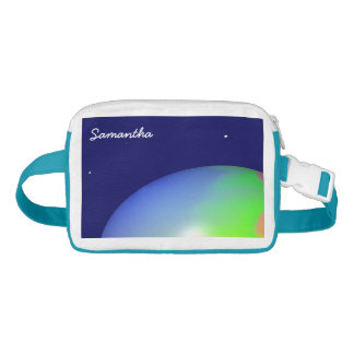 Planet Personalized Nylon Fanny Pack