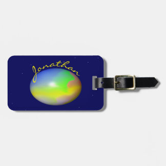 Planet Personalized Travel Bag Tags