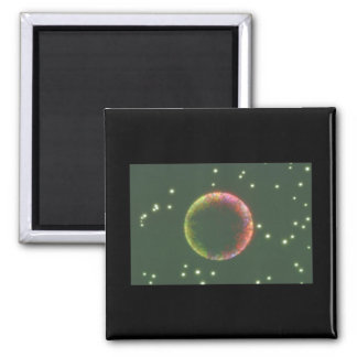 Planet. (planet;dark;_Space Scenes Magnet