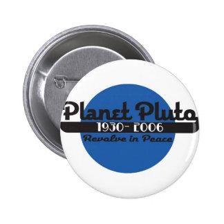 Planet Pluto 2 Inch Round Button