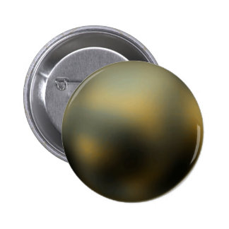 Planet Pluto Button