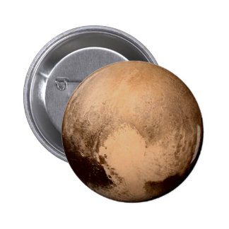 PLANET PLUTO - HAVE A HEART! (solar system) ~ 2 Inch Round Button