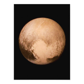 PLANET PLUTO - HAVE A HEART! (solar system) ~ Card