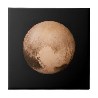 PLANET PLUTO - HAVE A HEART! (solar system) ~ Ceramic Tile