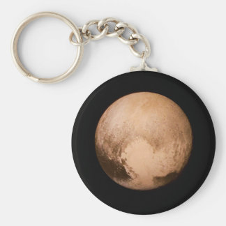 PLANET PLUTO - HAVE A HEART! (solar system) ~ Keychain