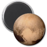 PLANET PLUTO - HAVE A HEART! (solar system) ~ 2 Inch Round Magnet