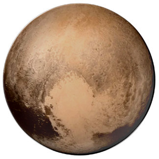 PLANET PLUTO - HAVE A HEART! (solar system) ~ Plate