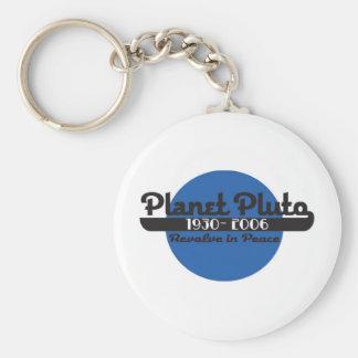 Planet Pluto Keychain