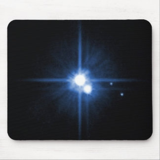 Planet Pluto moon Charon NASA Mouse Pad
