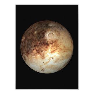 PLANET PLUTO natural ( solar system) ~ 6.5x8.75 Paper Invitation Card