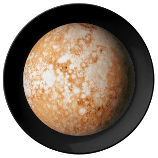 PLANET  PLUTO natural (solar system) ~~ Dinner Plate