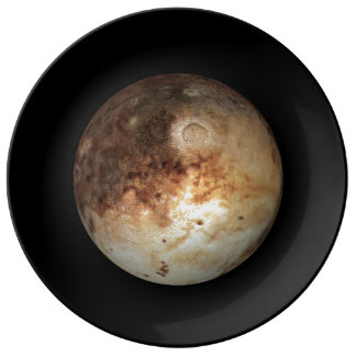 PLANET PLUTO natural ( solar system) ~ Dinner Plate