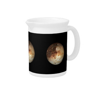 PLANET PLUTO natural ( solar system) ~ Drink Pitcher