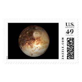 PLANET PLUTO natural ( solar system) ~.jpg Postage