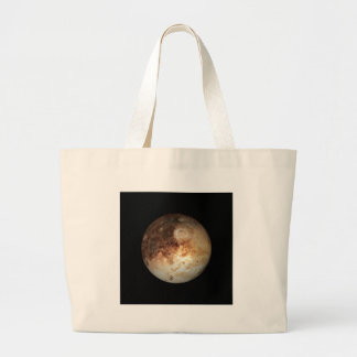 PLANET PLUTO natural ( solar system) ~ Large Tote Bag