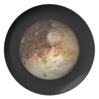 PLANET PLUTO natural ( solar system) ~ Plate