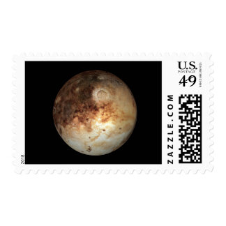 PLANET PLUTO natural ( solar system) ~ Postage Stamp