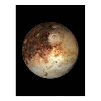 PLANET PLUTO natural ( solar system) ~ Postcard