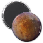 PLANET PLUTO (solar system) ~ 2 Inch Round Magnet