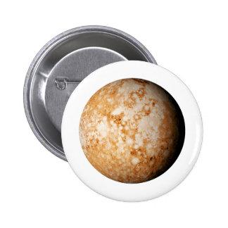 PLANET  PLUTO (solar system) ~~ 2 Inch Round Button