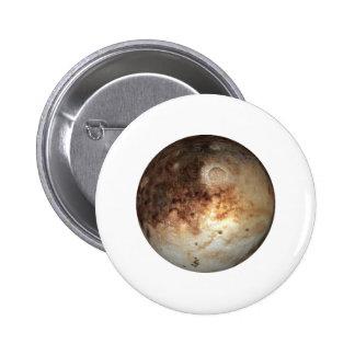 PLANET PLUTO ( solar system) ~~ 2 Inch Round Button