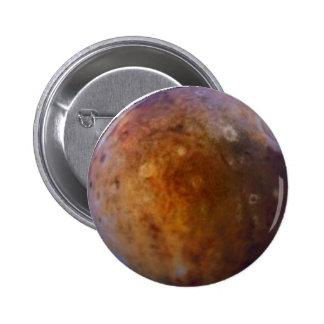 PLANET PLUTO (solar system) ~ 2 Inch Round Button