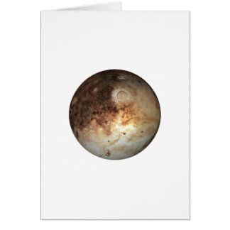 PLANET PLUTO ( solar system) ~~ Greeting Card