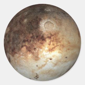PLANET PLUTO ( solar system) ~ Classic Round Sticker