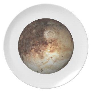 PLANET PLUTO ( solar system) ~~ Dinner Plate