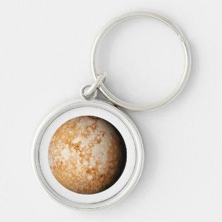 PLANET  PLUTO (solar system) ~~ Keychain