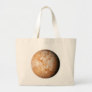 PLANET  PLUTO (solar system) ~ Large Tote Bag
