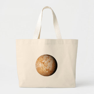 PLANET  PLUTO (solar system) ~~ Large Tote Bag