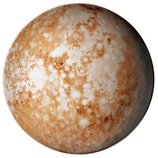 PLANET  PLUTO (solar system) ~ Porcelain Plate