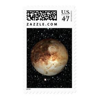 PLANET PLUTO star background ( solar system) ~.jpg Stamp