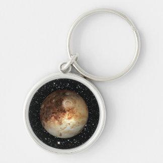 PLANET PLUTO star background ( solar system) ~ Keychain