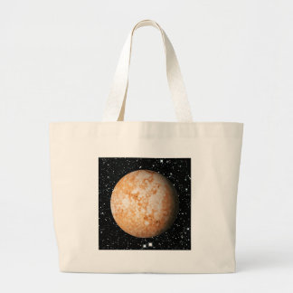 PLANET  PLUTO star background (solar system) ~ Large Tote Bag