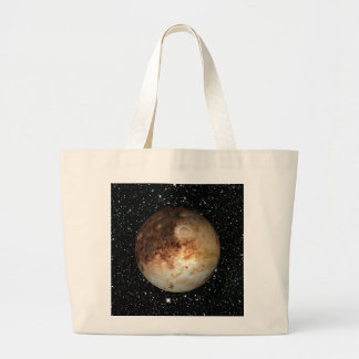 PLANET PLUTO star background ( solar system) ~ Large Tote Bag