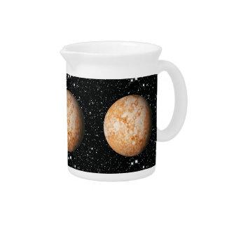 PLANET  PLUTO star background (solar system) ~ Pitcher