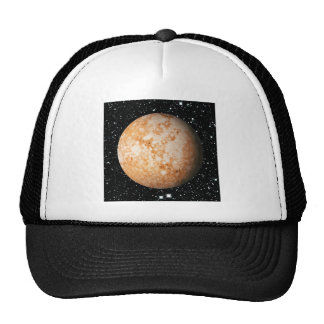 PLANET  PLUTO star background (solar system) ~ Trucker Hat