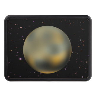 Planet Pluto Starry Sky Hitch Cover