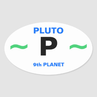 Planet PLUTO stickers (4)